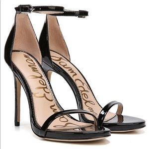 Sam Edelman Ariella black patent heels size 6 1/2